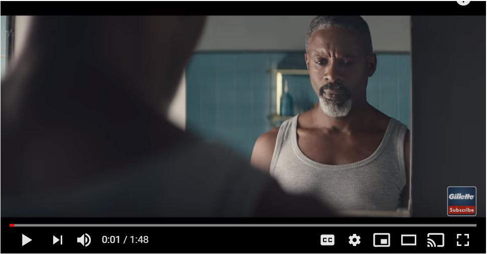 Gillette ad attitudes towards men